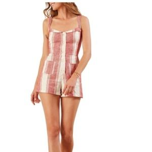 NWT Reformation Coconut Romper